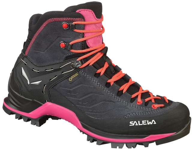 SALEWA MTN Trainer Mid GTX Shoes Damen asphaltsangria